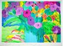 """Picture of TING WALASSE """"FLOWERS 1"""""""